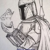 Star Wars Galactic Files 2 Sketch Card Lak Lim (2013)