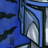 Star Wars Galaxy 4 Jango Fett Sketch Card, Grant Gould (2009)