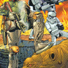 Topps Star Wars Galaxy 5 #89 Armored and Dangerous (2010)