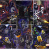 Topps Star Wars Galaxy 6 6-Part Etched Foil Puzzle...
