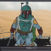 Topps Star Wars Galaxy 7 #3 Boba Fett (Animation Cel) (2012)