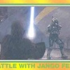 Topps Star Wars Heritage #95 Battle with Jango Fett (2004)