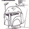 Topps Star Wars Heritage Sketch Card Matt Busch (2004)