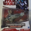 Transformers Crossovers Boba Fett to Slave 1