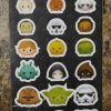 Tsum Tsum 5 Piece Star Wars Stationary Set