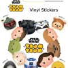 Tsum Tsum Star Wars Vinyl Stickers