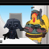 Family Guy's Giant Chicken as Boba Fett