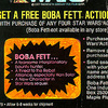 Free Boba Fett Promo, card back detail (1978)