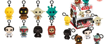 Funko Introduces Classic Star Wars Mystery Mini Keychain Plushies