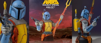 """The Lowdown on Gentle Giant's """"Holiday Special"""" Boba Fett Mini Bust"""