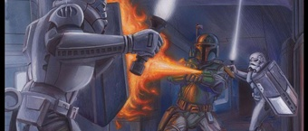 Interview with David Rabbitte, Star Wars Illustrator