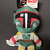 Boba Fett Flattie Dog Toy 6""