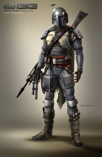 """Star Wars 1313 Boba Fett Costume Design"" by Gustavo H. Mendonca"