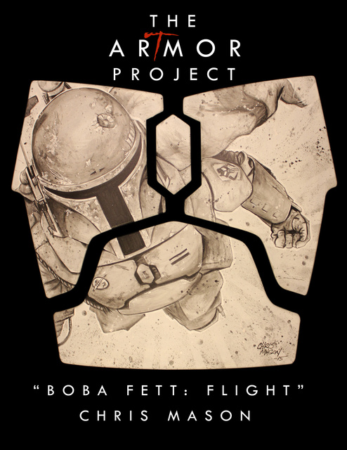 ArTmor 2015: Boba Fett Flight