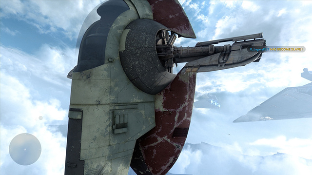 Star Wars Battlefront, Slave I Gameplay