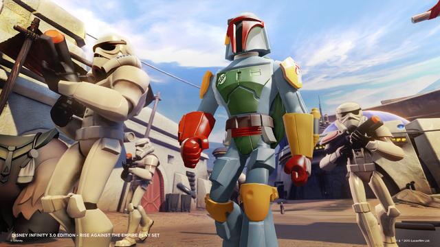 Disney Infinity 3.0, Boba Fett Gameplay