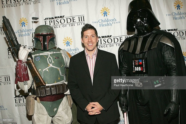 Episode III Premiere with Boba Fett and Ray Park (Darth Maul)