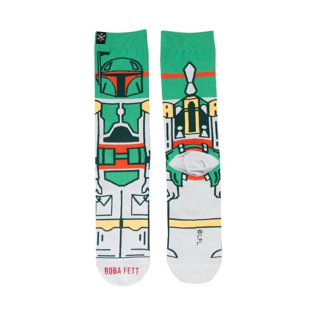 Heroes & Villains Boba Fett Crew Socks