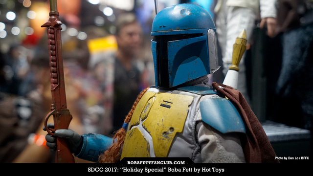 Hot Toys 1/6 Scale Boba Fett (Holiday Special)