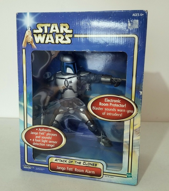 Jango Fett Room Alarm - Boba Fett Fan Club