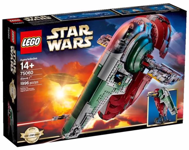 LEGO Slave I (75060), Box (2014)