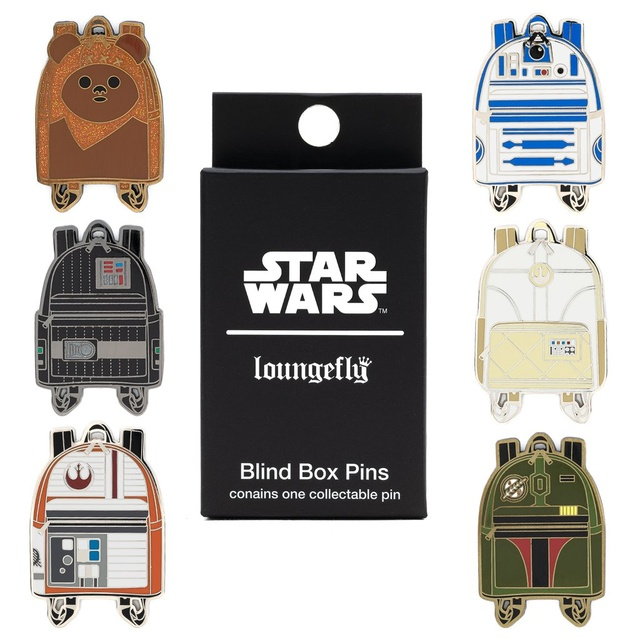 Loungefly Star Wars Mini Boba Fett Backpack Pins
