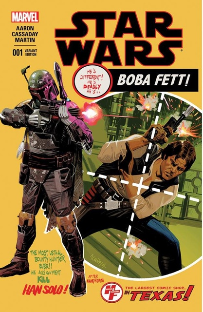 Star Wars #1 (Heroes and Fantasies Exclusive) (2015)