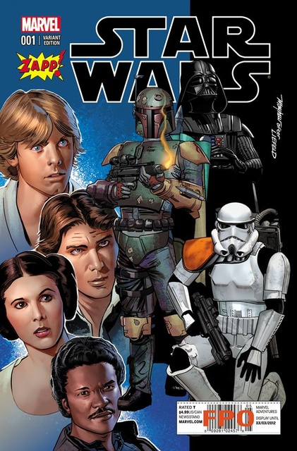 Star Wars #1 (Zapp Comics Exclusive) (2015)