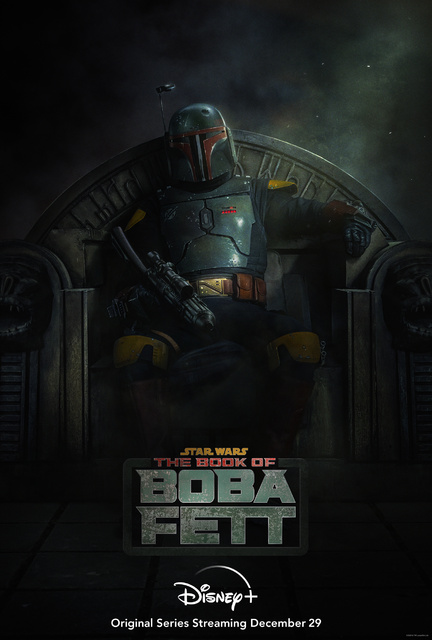 """Official Poster for """"The Book of Boba Fett"""""""
