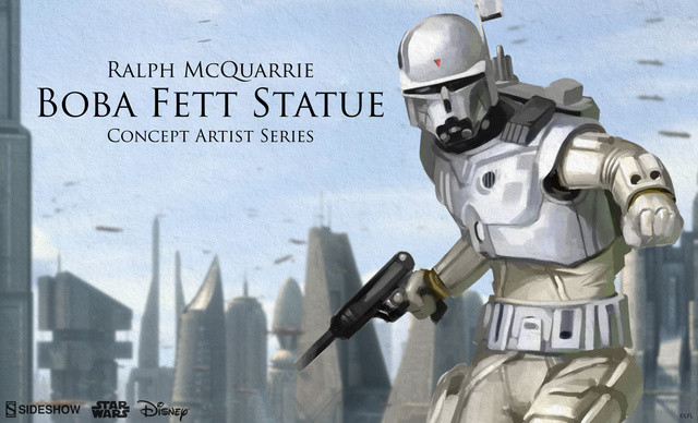 Preview of the Sideshow Collectibles Ralph McQuarrie Boba Fett Concept (2015)