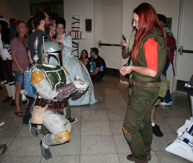 Rick Ponte as ROTJ:SE Boba Fett, Proposing (Fan Spotlight 10/24/2014)