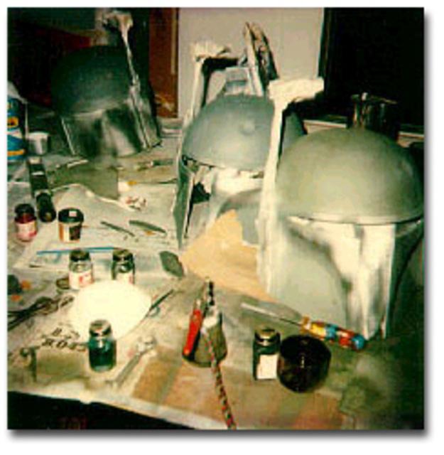 Sandy Dhuyvetter Making Boba Fett Helmets
