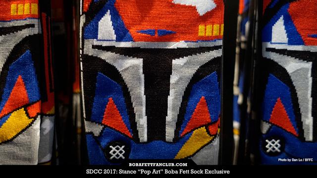 "Stance ""Pop Art"" Boba Fett Socks (SDCC Exclusive)"