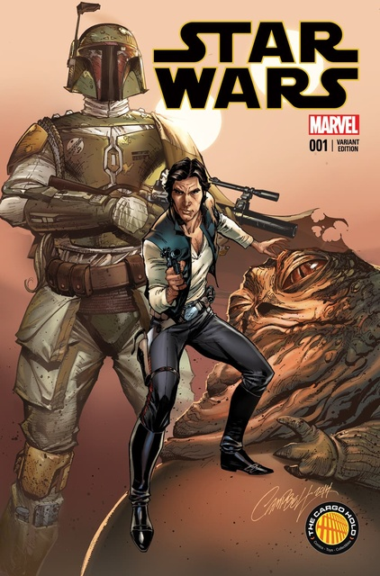 Star Wars #1 (The Cargo Hold Exclusive) (2015)