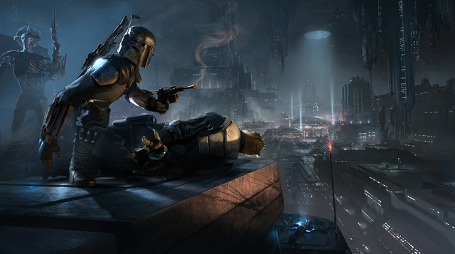 """Star Wars 1313 Boba Fett the Hunter"" by Gustavo H. Mendonca"
