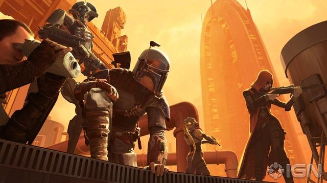 Star Wars 1313 (Cancelled), Boba Fett Concept Art