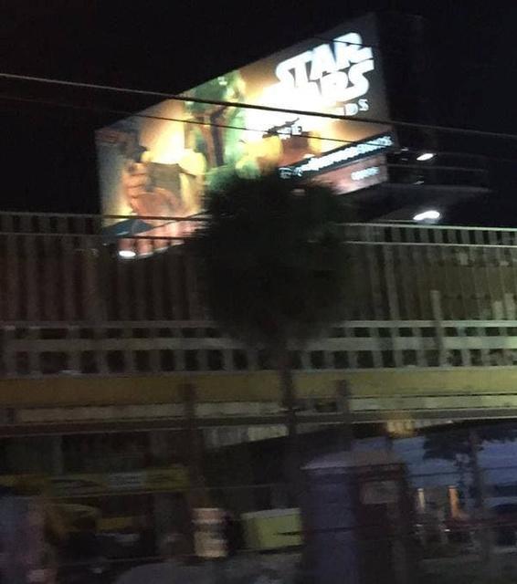 Star Wars Weekends 2015, Boba Fett Billboard (Version 1)