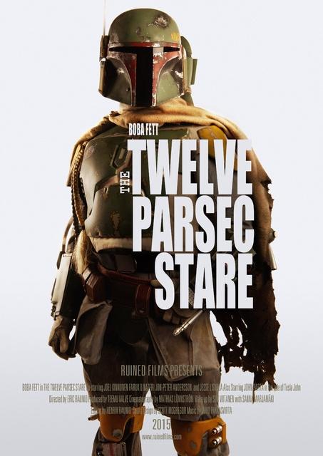 """The Twelve Parsec Stare"" Poster (2015)"