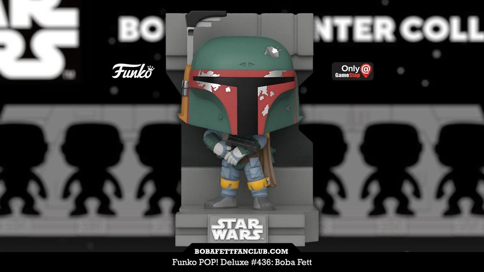 New Funko POP Boba Fett Now Available Exclusively at GameStop