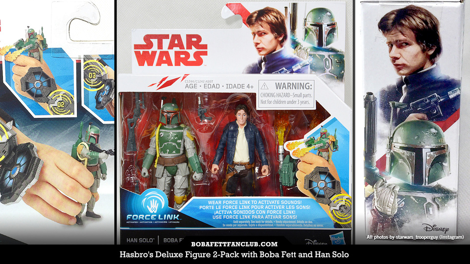 SPOTTED: Boba Fett / Han Solo Deluxe Figure 2-Pack