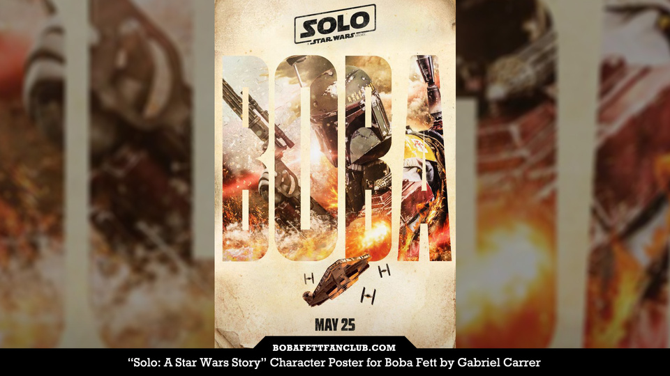 "Fan-made ""Solo"" Poster"