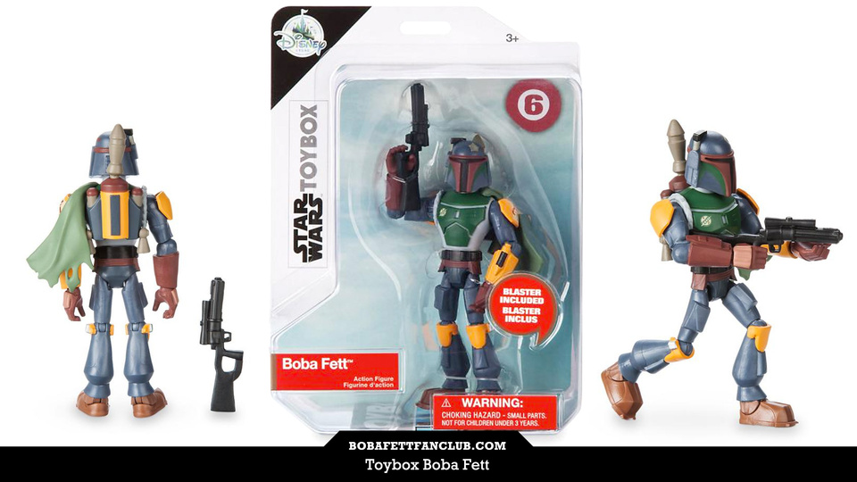 Toybox Boba Fett, Inspired by Disney Infinity, is Now Available