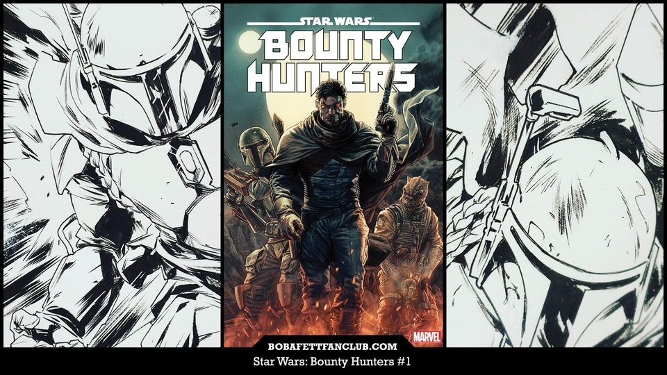 Star Wars: Bounty Hunters #1 is Now Available