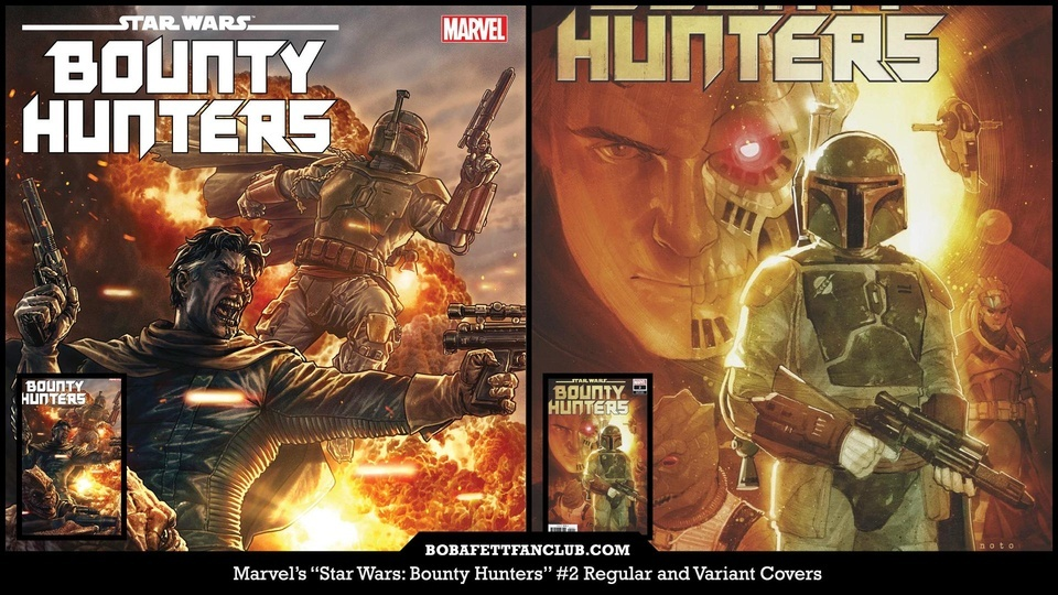 Star Wars: Bounty Hunters #2 is Now Available