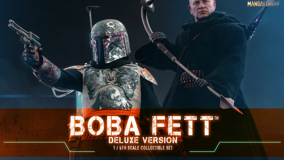 "Hot Toys 1/6 Scale Boba Fett (""The Mandalorian"")"