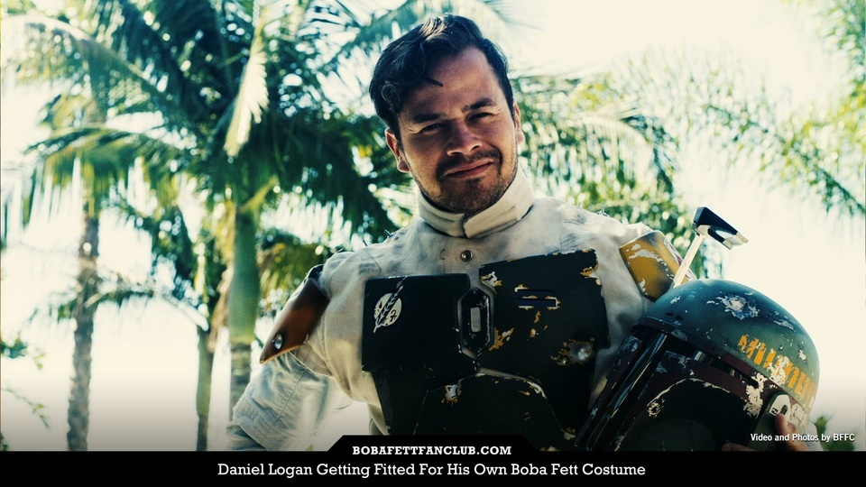 Daniel Logan Getting Fitted For His Own Boba Fett Costume