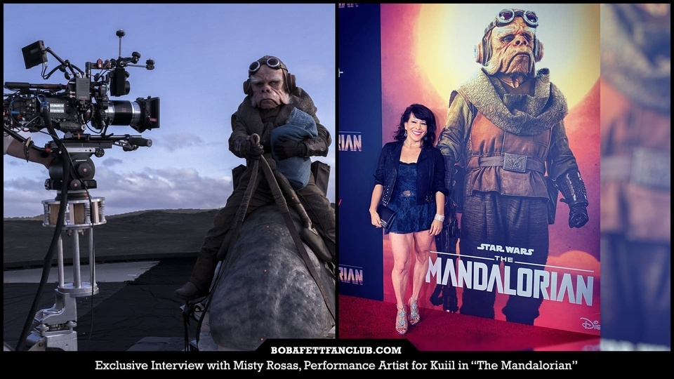 "Exclusive Interview with Misty Rosas, Performance Artist for Kuiil in ""The Mandalorian"""