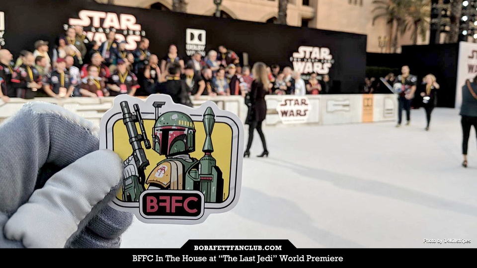 BFFC In The House at The Last Jedi World Premiere