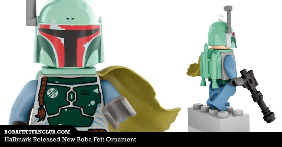 Hallmark Released New Boba Fett Ornament