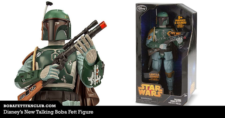 Disney's New Talking Boba Fett Figure
